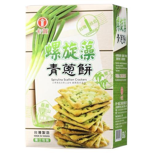 《卡賀》螺旋藻青蔥餅(160g)