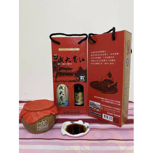 《成大醬油》和風醬油(昆布醬油420ml)