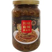 《萬生》黃金茸(川味麻辣350g/罐)