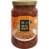 《萬生》黃金茸(韓式辣味350g/罐)