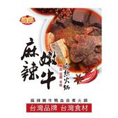 《嗑鍋》麻辣嫩牛鴨血豆腐冬粉自熱鍋(690g/盒)