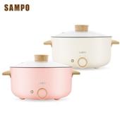 《SAMPO聲寶》三公升日式多功能料理鍋TQ-B19301CL  粉/白(顏色隨機)