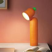 USB充電紅蘿蔔LED檯燈(28X9X6.8cm)