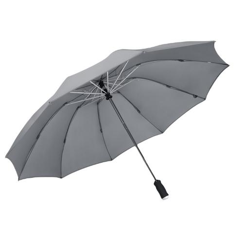 手電筒全自動反向傘(灰)