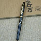 描金筆桿鋼筆含盒-黑(型號3019)