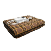 Kampo微電腦溫控電熱毯(雙人)格紋黃