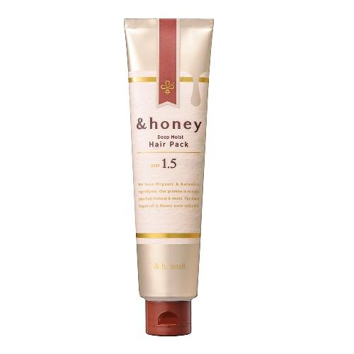 《日本&honey》蜂蜜亮澤修護髮膜(130g/條)