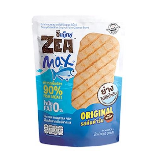 《ZEAMax》手網燒脆魚片(原味30g/包)