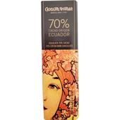 《慕夏》黑巧克力片(18g/片-70%厄瓜多)