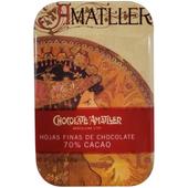《慕夏》70%造型黑巧克力盒(30g/片-款式隨機)