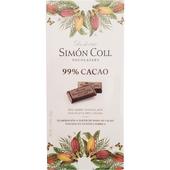 《Simon Coll》黑巧克力片(85g/片-99%)