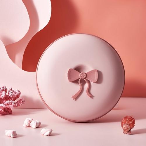 甜甜圈多功能分隔收納盒(粉)