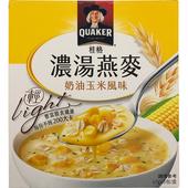 《桂格》濃湯燕麥(奶油玉米風味-47g*5包)