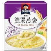 《桂格》濃湯燕麥(洋蔥起司風味-47g*5包)