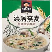 《桂格》濃湯燕麥(鮮蔬蘑菇風味-43g*5包)