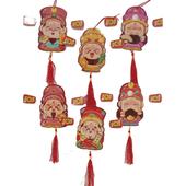 官帽迎財神紅包吊飾(隨機出貨)