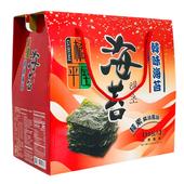 《橘平屋》韓味海苔禮盒(4.2g±9%×15包/盒)