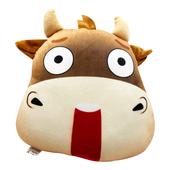 個性牛脾氣抱枕(驚訝牛)