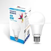 《威剛》LED 8W球泡燈(白光)