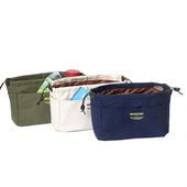 帆布包中收納袋-小深藍色 $179