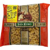 《San Remo聖雷蒙》義大利麵(彎管麵-500g/包)
