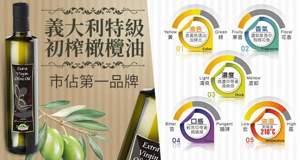 義大利橄欖油市占NO.1
